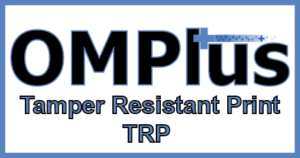 OMPlus TRP, Plus Technologies and Lexmark Awarded Large Rx Printing Contract, TRP, Tamper, Resistant, Print, Output Management, Plus Technologies, OM Plus, Rx