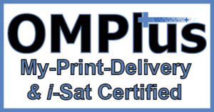 OM Plus, My-Print-Delivery, MPD, i-sat, isat, Lexmark, certified