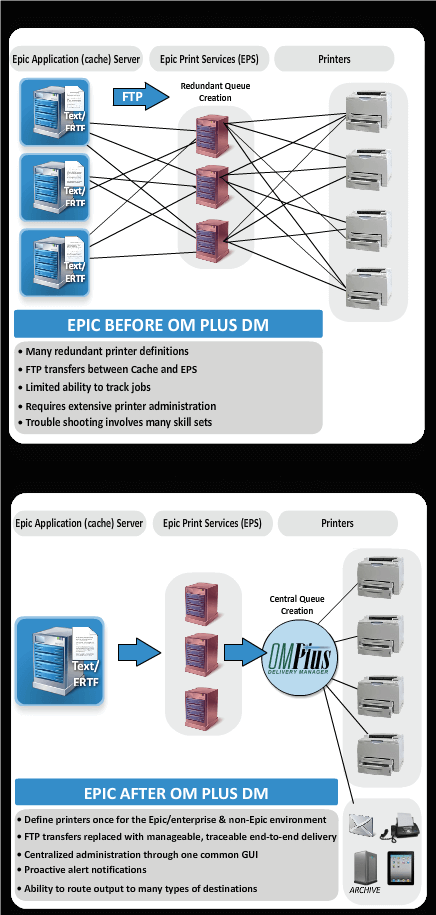 Epic, SaaS, Plus Technologies, OM Plus, Delivery Manager, DM